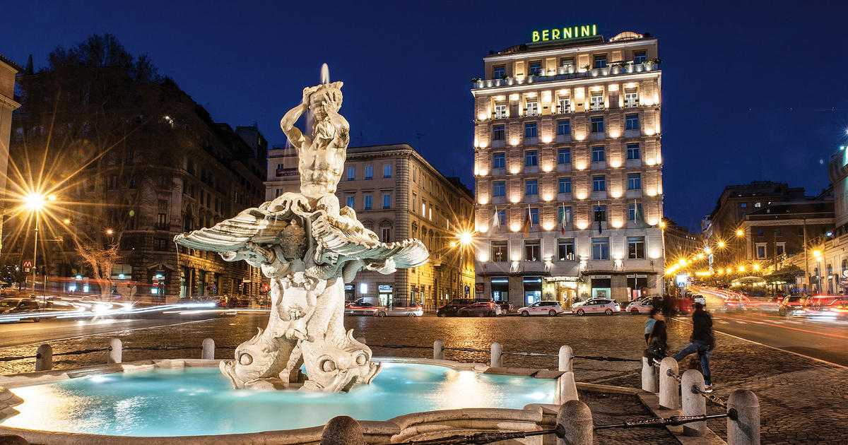 Hotel Bernini Bristol 5 Star In Rome Near Via Veneto Sina Hotels
