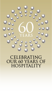 Celebrating our 60 years of hospitality