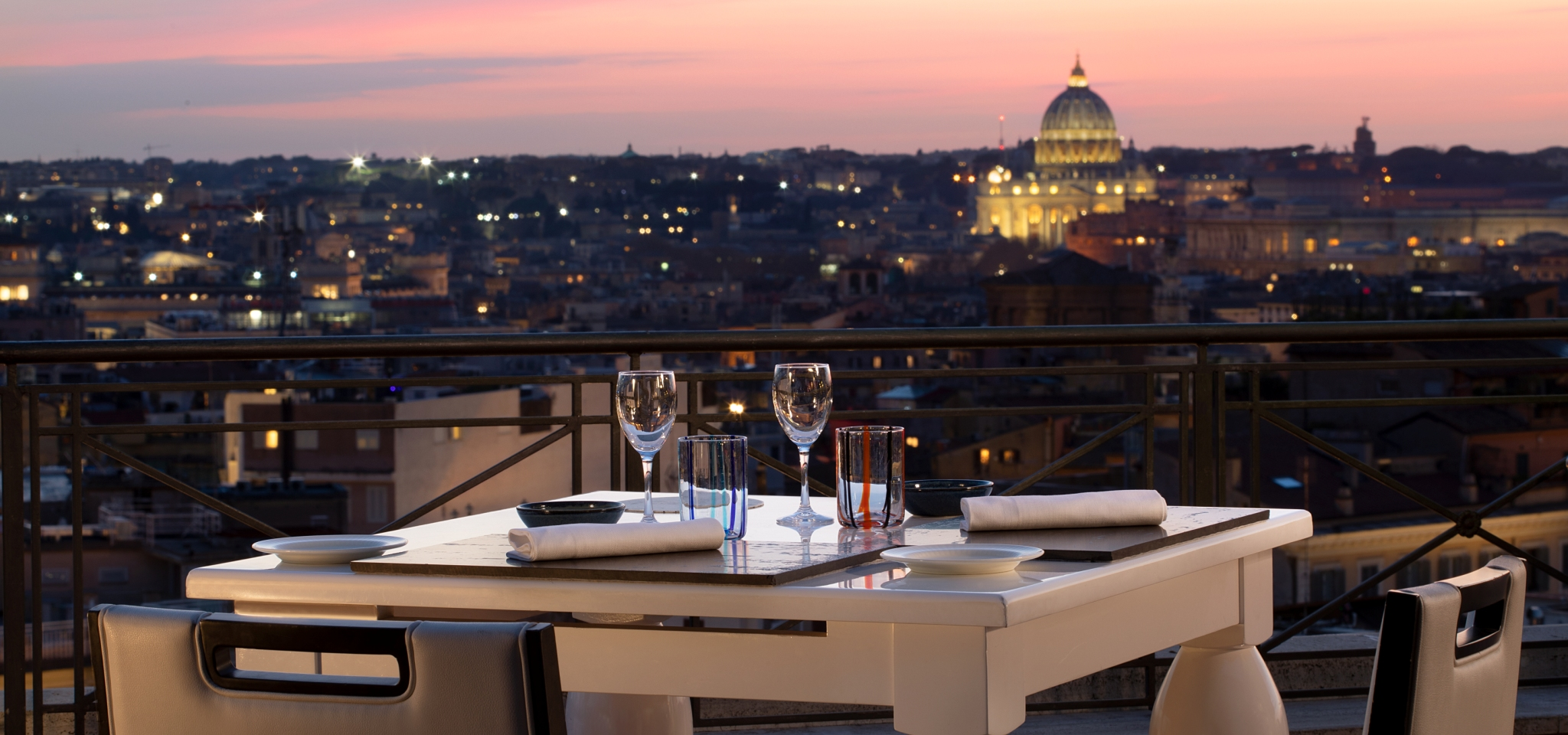 The Flair Restaurant Rome Restaurants With A View Bernini