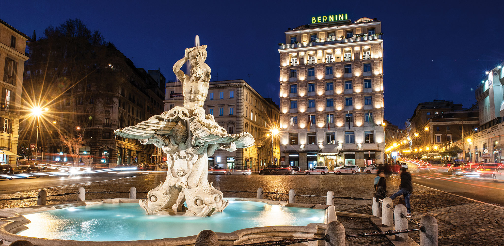 Hotel Bernini Bristol 5 Star Hotel In Rome Near Via Veneto
